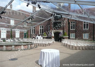 Hard Aluminum Alloy Luxury Wedding Tents with Back Garden Yard Clear Fabric Cover